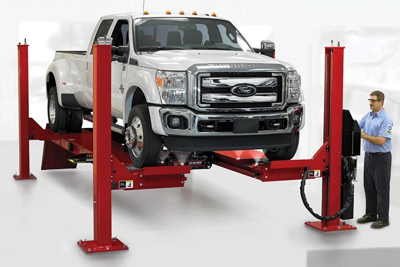 Lift Rack by Hunter Engineering