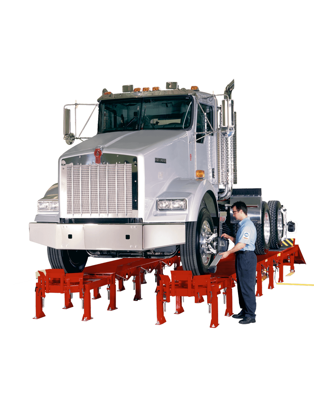 Heavy-duty power rack with commercial truck
