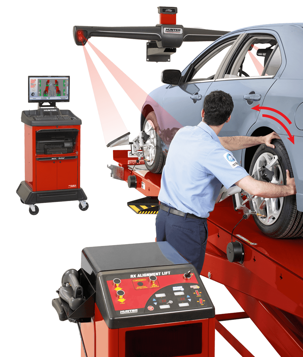 Hunter Alignment Systems Automotive Wheel Alignment Tools