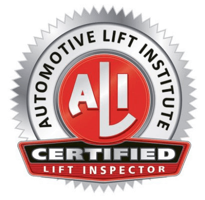 ALI Lift Inspector Badge