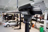 vehicle exhaust extraction system by Harvey